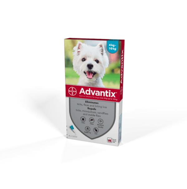 Bayer Advantix flea treatment for small dogs