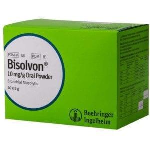 Boehringer Bisolvon Oral Powder Sachets Box of 40 x 5g