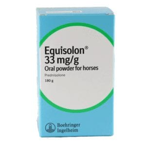 Boehringer 180g Equisolon Oral Powder for horse