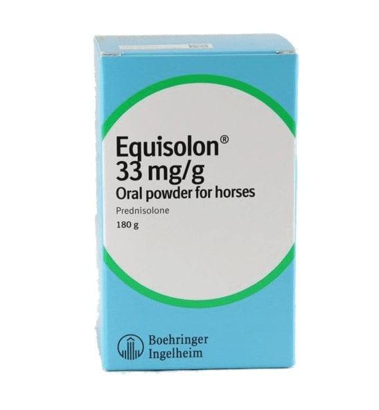 Boehringer 180g Equisolon Oral Powder for horse
