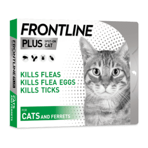 Frontline spot on plus for cats and ferrets