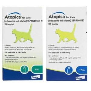 Dechra Atopica Solution for Cats 5ml & 17ml