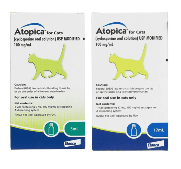 Dechra Atopica Solution for Cats 5ml & 17ml