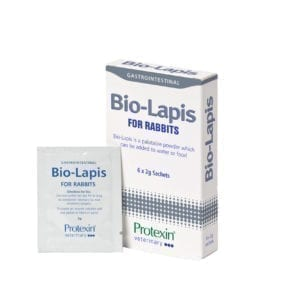 Box of 6 x 2g sachets of Protexin Bio-Lapis for rabbits