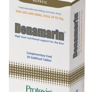 Box of 30 protexin denamarin tablets for cats and small dogs