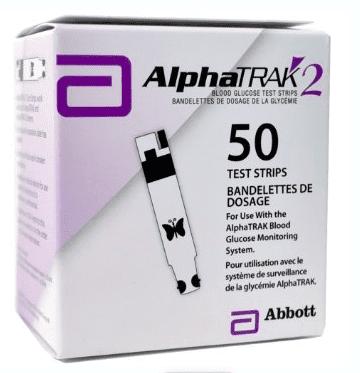 Zoetis AlphaTrak 2 Test Strip pack of 50