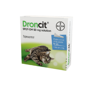 Bayer Doncit for Cats Spot-On pack of 4