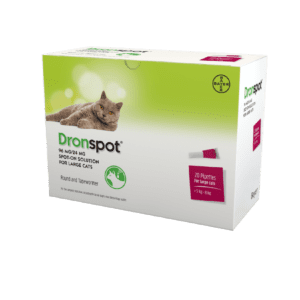 Bayer Dronspot for Large Cats x 20 pipettes