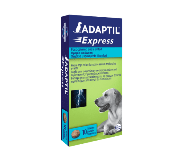 CEVA Adaptil Express Tablets for Dogs pack of 10
