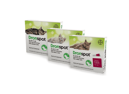 Image of all Dronspot for cat products