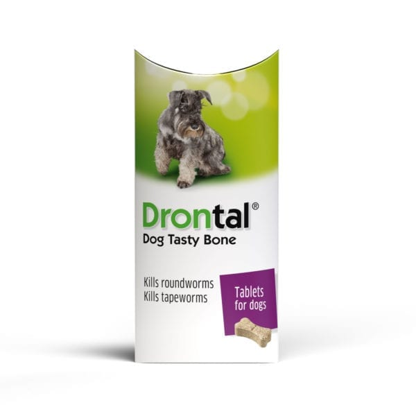 Drontal Tasty Bone Single Pack