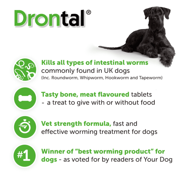 Drontal Tasty Bone USPs