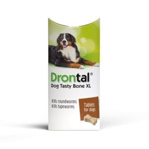 Drontal Tasty Bone XL Single