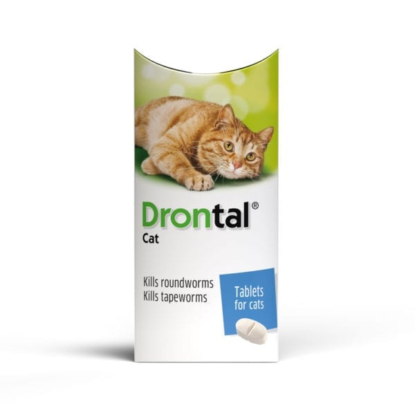 Drontal Wormer Tablets for Cats