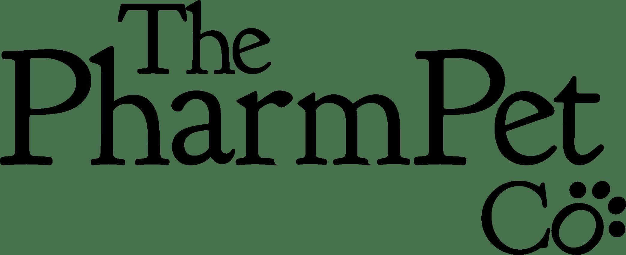 The PharmPet Co logo - black png