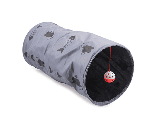 Acticat play tunnel grey for cats
