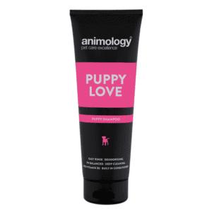 Bottle of Animology puppy love shampoo