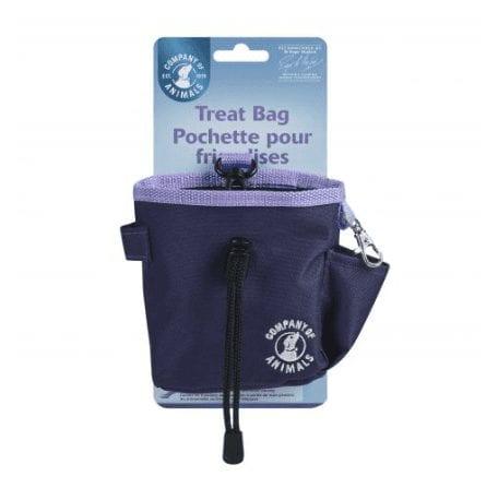 Company of animals dog treat bags purple