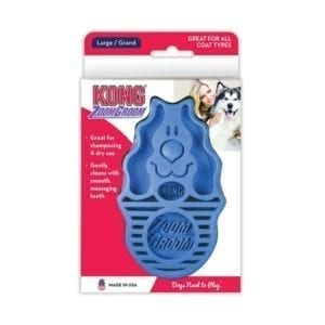kong blue zoomgroom for dogs