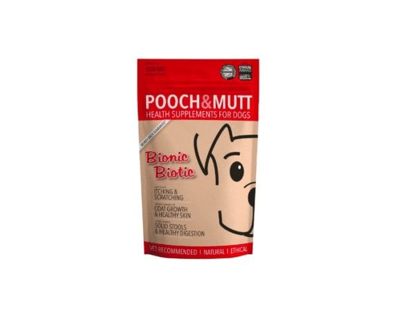 Packer of pooch and mutt bionic biotic