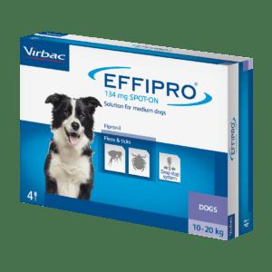 Virbac Effipro Spot-on dogs 10-20kg 132mg box