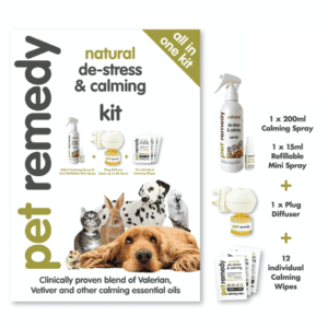 Pet Remedy All In One Natural De-Stress and Calming Kit