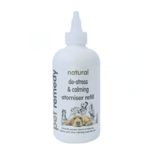 250ml bottle of Pet Remedy Natural de-stress and calming atomiser refill