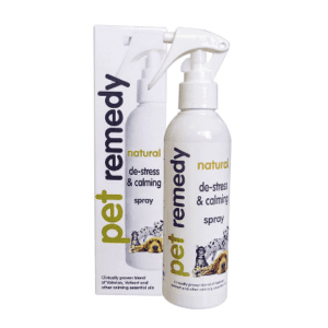 200ml bottle of Pet Remedy De-Stress and Calming Spray
