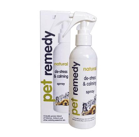 200ml bottle of Pet Remedy De-Stress and Calming Spray