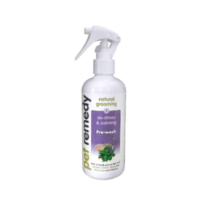 300ml bottle of Pet Remedy de-stress and calming Pre-Wash