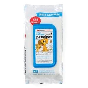 Petkin Petwipes Mega Value Pack of 125