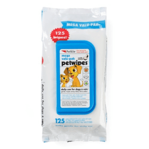 Petkin Petwipes Mega Value Pack of 125