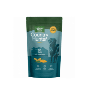 Pouch of country hunter duck dog food
