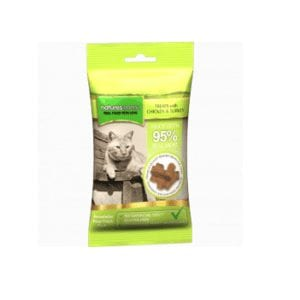 Natures menu chicken and turkey treats for cats