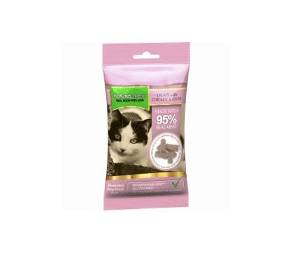 Natures menu chicken and liver treats for cats