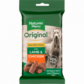 Natures menu chicken and lamb treats for dogs