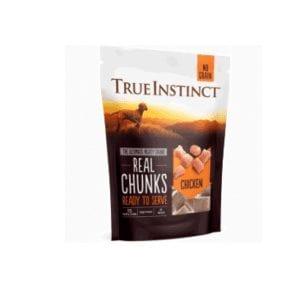 True instinct freeze dried chicken chunks