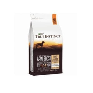 True instinct raw boost turket with duck for dogs