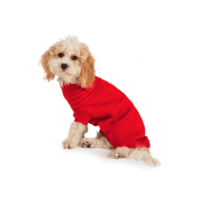 Ancol Red Cable Knit Jumper for Dogs