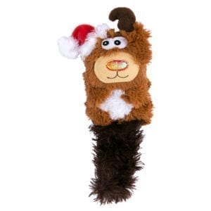 Christmas Kong Cat Kickeroo Reindeer