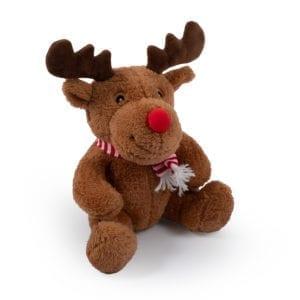 Christmas Supersoft Reindeer Dog Toy