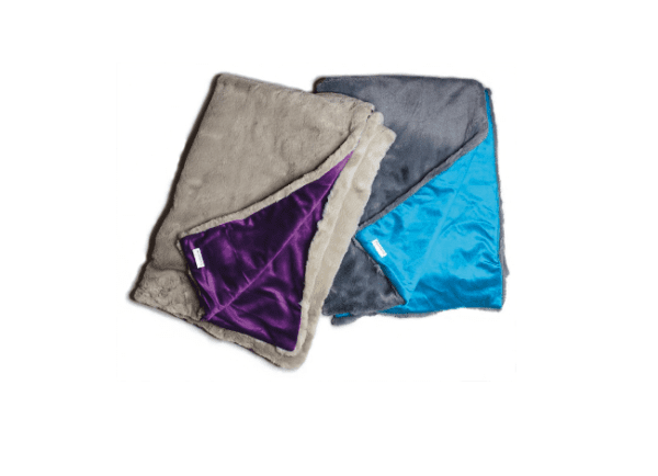 Doodlebone Blanket for dogs purple and turqouise blankets
