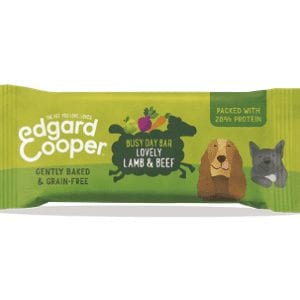 Packet of Edgard Cooper lamb and beef bar