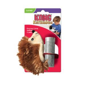 Kong Hedgehog for cats with packaging