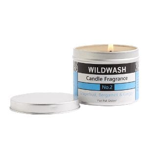 Wildwash grapefruit candle