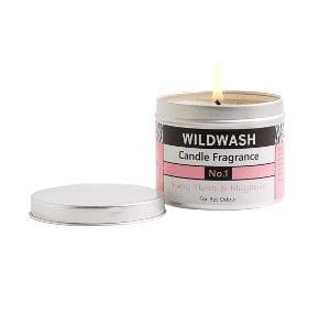Wildwash ylang yang tin candle