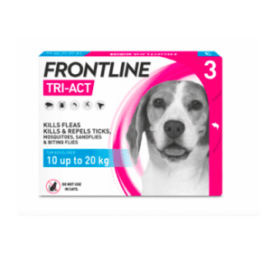 Packet of frontline tri -act medium