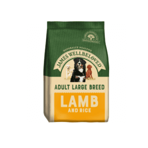 Packet of James wellbeloved adult large breed lamb