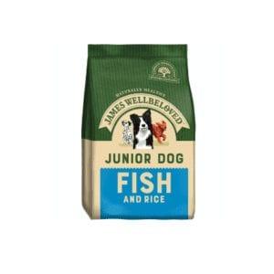 Packet of James wellbeloved junior fish