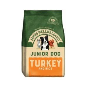 Packet of James wellbeloved junior turkey